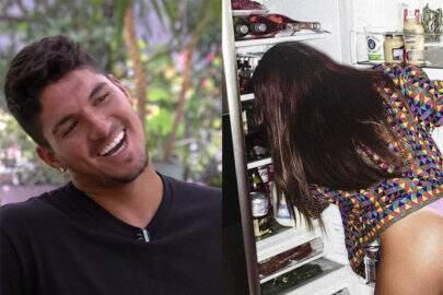 """Gabriel Medina comenta em foto ousada de blogueira e fãs alfinetam: """"Anitta usa esse fio-dental?"""""""