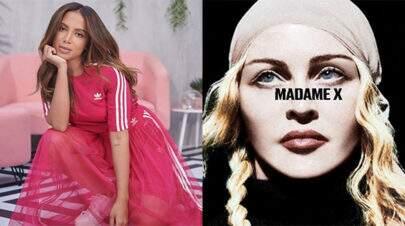 """Anitta diz que ensinou Madonna cantar em português no hit """"Faz Gostoso"""""""