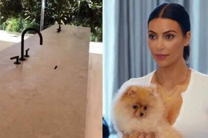 Após deixar fãs confusos, Kim Kardashian mostra como torneiras sem pia funcionam