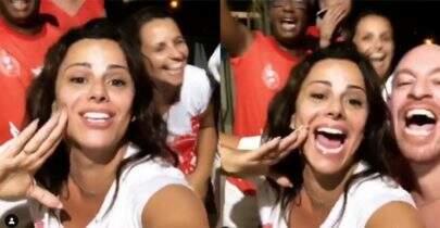 Viviane Araújo canta música sobre ex e fãs apontam indireta para Gracyanne