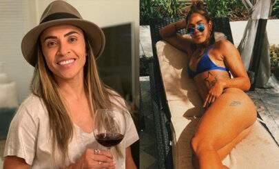 """Apontada como namorada de Marta, jogadora dá o que falar com foto de biquíni: """"Mais uma bola de ouro"""""""