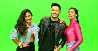 """Wallas Arrais grava clipe com Simone & Simaria: """"Troquinho"""""""