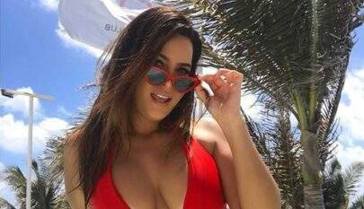 "Geisy Arruda choca fãs ao usar filtro que troca de sexo e dispara: ""Igual as travestis"""