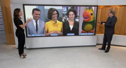 Louro José participa do 'Bom Dia Brasil' ao lado de jornalistas e viraliza na internet