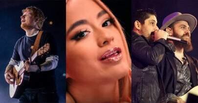 """""""Músicas de sexta"""": Novo single de Ed Sheeran, hit de Ally Brooke e """"Tijolão"""" de Jorge & Mateus"""