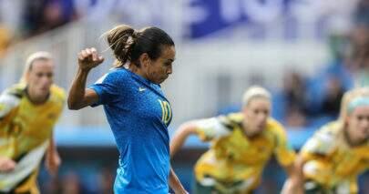 Em estreia de Marta, Brasil perde de virada para a Austrália