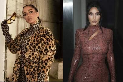 Anitta comenta sobre vez que Kim Kardashian a reconheceu