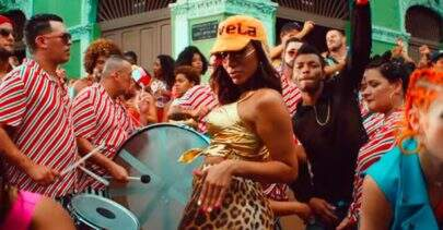 "Major Lazer e Anitta liberam clipe dançante de ""Make It Hot"""