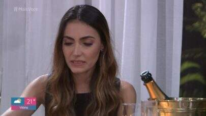"""Jantar romântico no """"Mais Você"""" dá errado e causa vergonha alheia na web"""