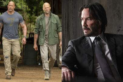 "Keanu Reeves em ""Hobbs & Shaw""? The Rock fala sobre os rumores"