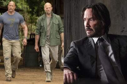 "Keanu Reeves em ""Hobbs & Shaw""? The Rock fala sobre os rumores"