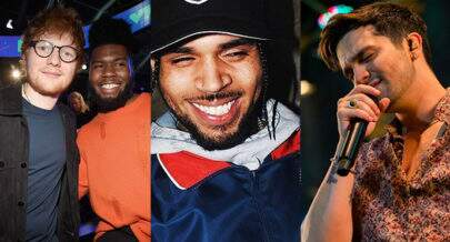 """Músicas de sexta"": Ed Sheeran ft. Khalid, álbum de Chris Brown e single de Luan Santana"