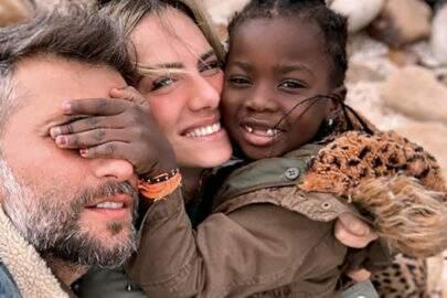 Giovanna Ewbank e Bruno Gagliasso adotam um menino de 4 anos