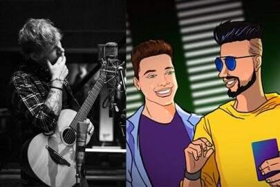 """Músicas de sexta"": Novo álbum de Ed Sheeran e hit de Dennis DJ feat. Safadão"