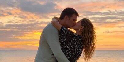 Gisele Bündchen e Tom Brady são flagrados em momento íntimo e 'mão boba' chama atenção
