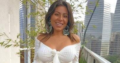 Mulher de Thammy, Andressa Ferreira compara barriga de 1 e de 3 meses de gravidez