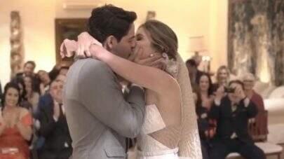 Pato e Rebeca Abravanel compartilham vídeos inéditos do casamento