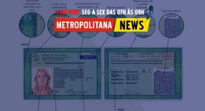 """""""Metropolitana News #22"""": Novo RG começa a ser emitido em São Paulo"""