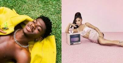 Lil Nas X segue no topo e Ariana Grande estreia na Billboard Hot 100