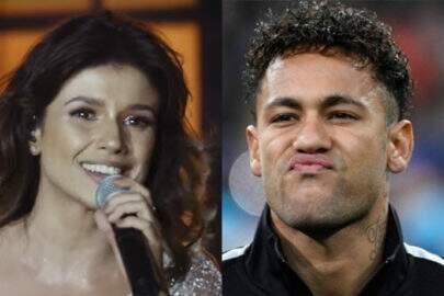 Paula Fernandes aparece ao lado de Neymar e é criticada pelos fãs