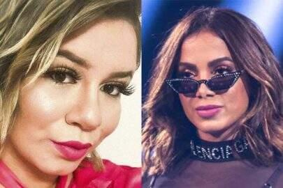 """Anitta curte comentário que critica Marília Mendonça: """"Chata"""""""