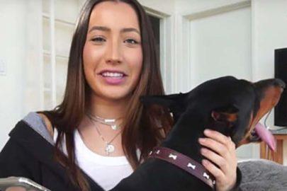 Youtuber é criticada por bater em seu cachorro e se pronuncia