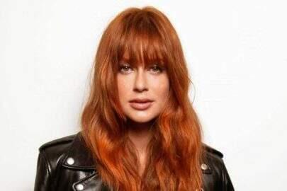 Marina Ruy Barbosa rebate internauta que questiona raiz preta em seu cabelo