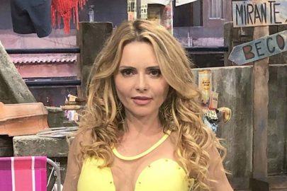 Rita Guedes sofre acidente de carro no Rio Janeiro