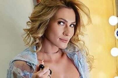 """Decote de Lívia Andrade chama a atenção: """"Colocou silicone?"""""""