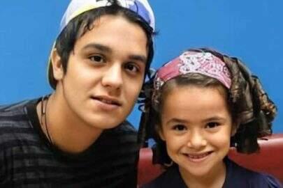 """Luan Santana recria foto com Maisa e viraliza na internet: """"Mudaram demais"""""""