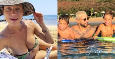 Após ironizar fim do namoro com Anitta, Luana Piovani posta foto com Pedro Scooby