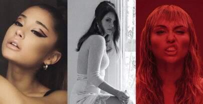 """Single de Ariana Grande, Lana Del Rey e Miley Cyrus para filme """"As Panteras"""" tem data revelada"""