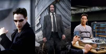 Você consegue acertar o nome de todos estes filmes estrelados por Keanu Reeves?