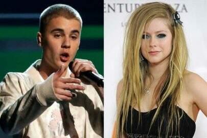 Justin Bieber descobre que é parente de Avril Lavigne