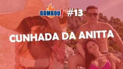 BOMBOU! Cunhada de Anitta sensualiza em praia da Croácia