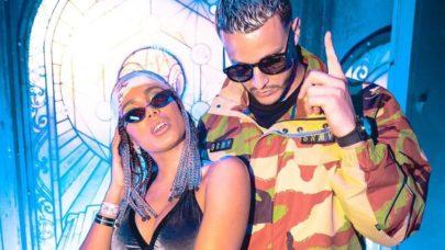 """Anitta e DJ Snake divulgam fotos do clipe de """"Fuego"""""""