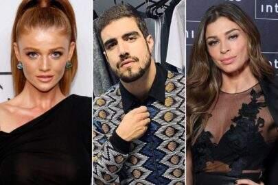 Caio Castro namorava modelo escondido quando se envolveu com Grazi Massafera