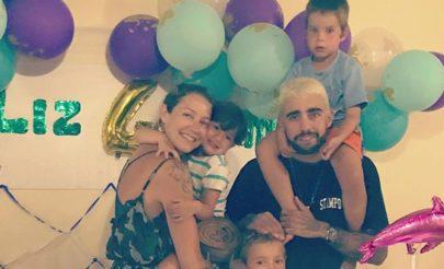 """Luana Piovani posta foto de """"família completa"""" ao lado de Pedro Scooby: """"Nos mantenha unidos"""""""
