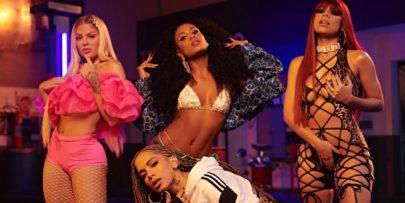 Anitta mostra bastidores do clipe de parceria com Lexa, Luisa Sonza e MC Rebecca