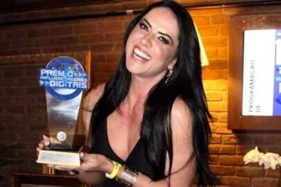 """Graciele Lacerda ganha prêmio de melhor influenciadora fitness: """"Não consegui falar"""""""