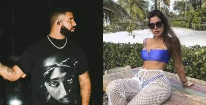 Após Rock In Rio, amiga de Anitta é flagrada com Drake no Canadá