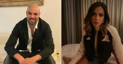 Adriano Imperador faz pedido inusitado para Anitta e chama atenção na web