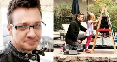 Ex-esposa de Jeremy Renner, o Gavião Arqueiro, acusa o ator de ter mordido a filha
