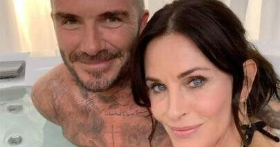 "Courteney Cox, a Monica de ""Friends"", participará de ""Modern Family"" com David Beckham"