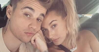 Hailey e Justin Bieber gravam vídeo zombando de Taylor Swift