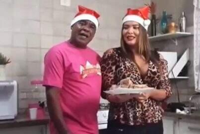 Geisy Arruda e Kid Bengala fazem rabanada na Casa das Brasileirinhas