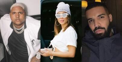 """Anitta comemora parceria de Kevin O Chris e Drake: """"História de luta do funk"""""""