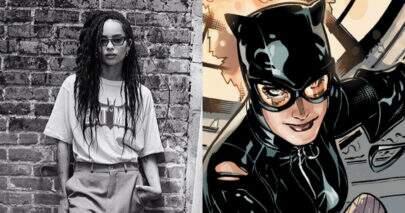 """Zoë Kravitz mostra possível visual para viver Mulher-Gato em """"The Batman"""""""