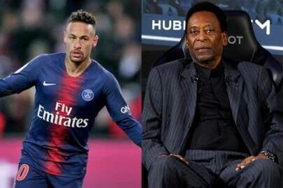 """Pelé abre o jogo sobre o que pensa de Neymar e dispara: """"Não é uma grande figura"""""""