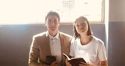 A Dona do Pedaço: Agatha Moreira e Reynaldo Gianecchini gravam três finais diferentes para a novela